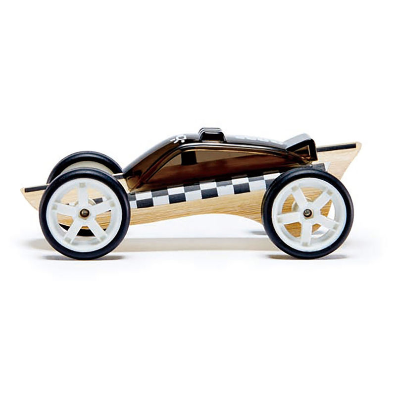 Hape Bamboo Toy Police Race Car